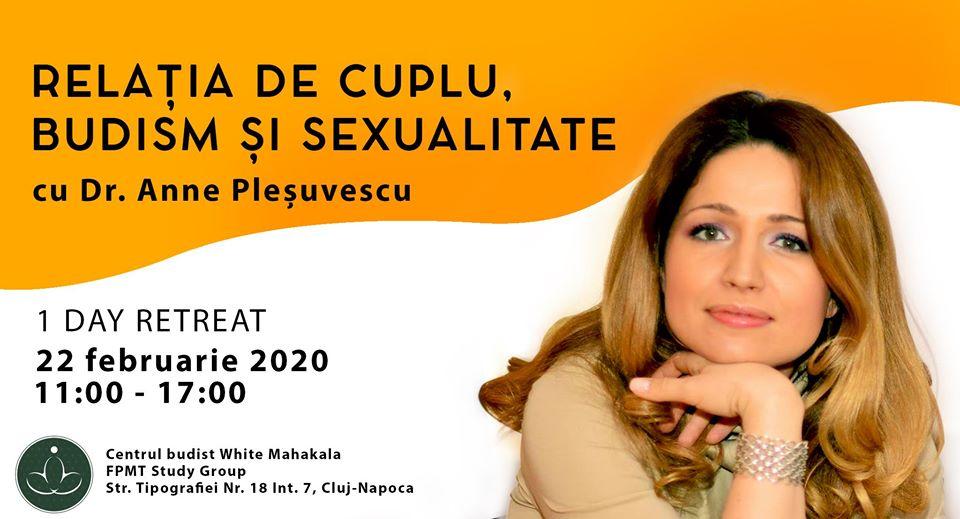 Relatia de cuplu, budism si sexualitate cu Anne Plesuvescu