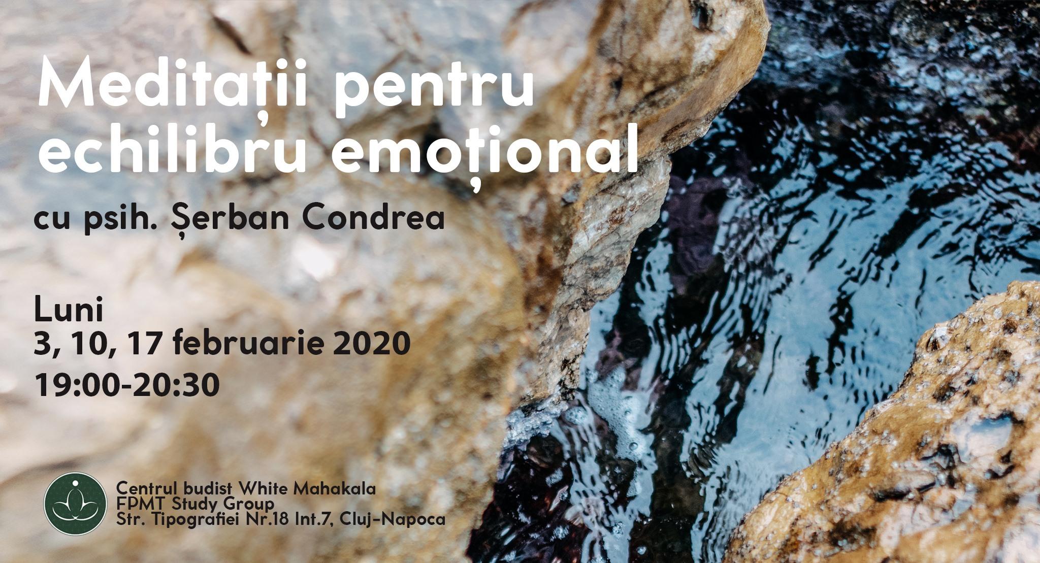 Meditatii pentru echilibru emotional cu Serban