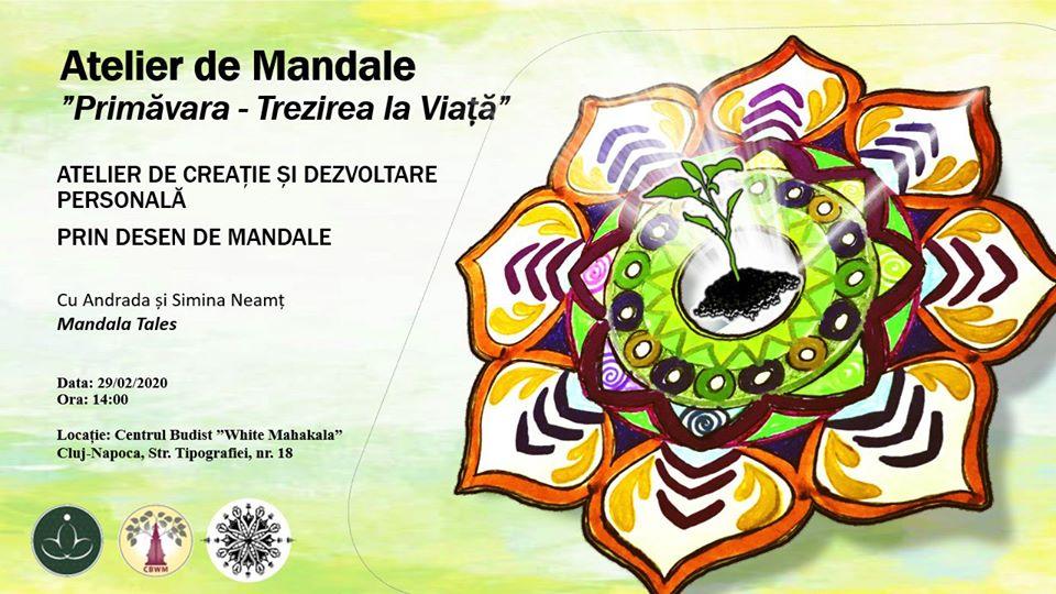 Atelier de Mandale/Primavara: Trezirea la Viata