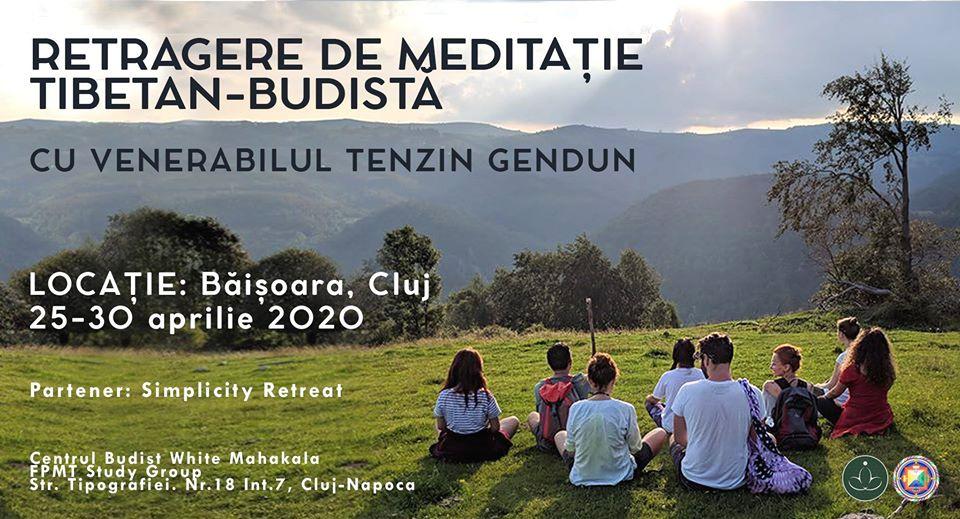 Retreat de meditație cu Venerabilul Gendun (ANULAT)