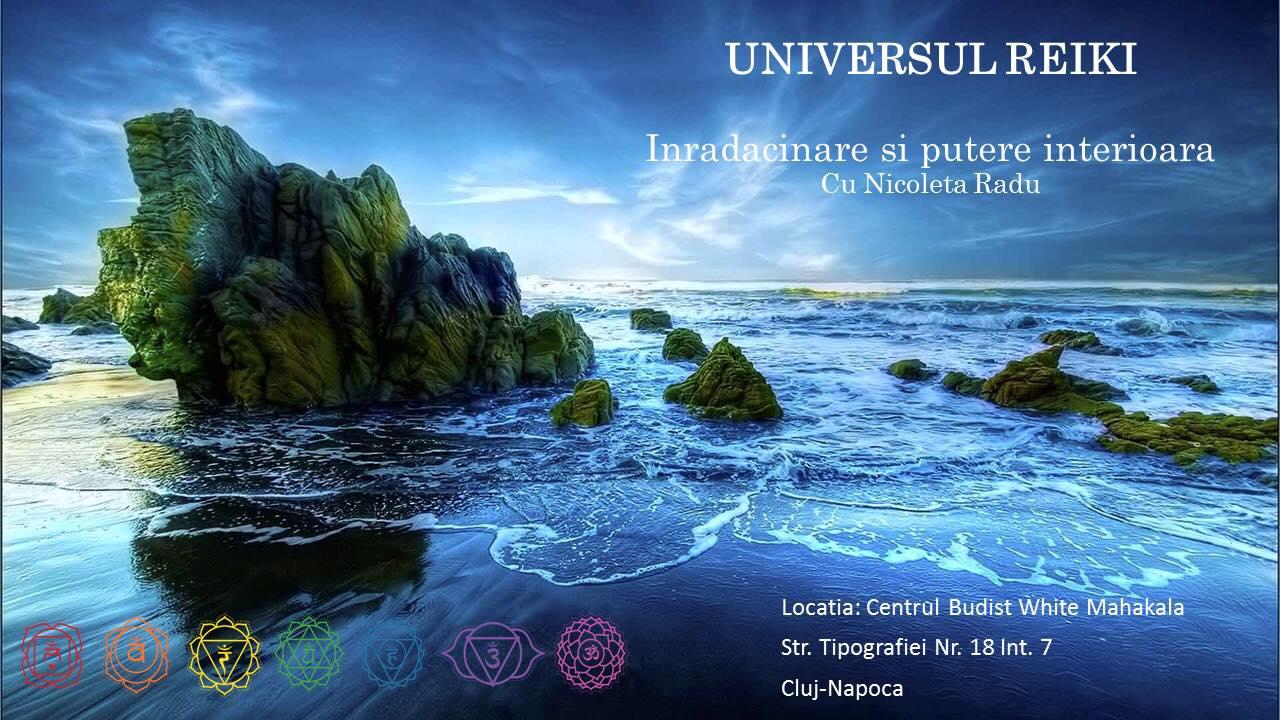 Online Event Universul Reiki: Inradacinare si putere interioara