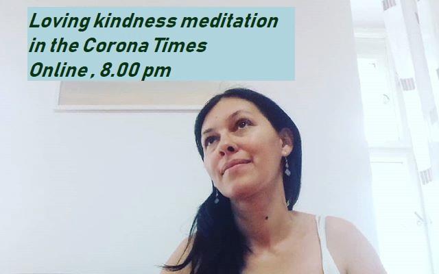 Online Event Loving Kindness meditation cu psihoterapeut Simona Calinici