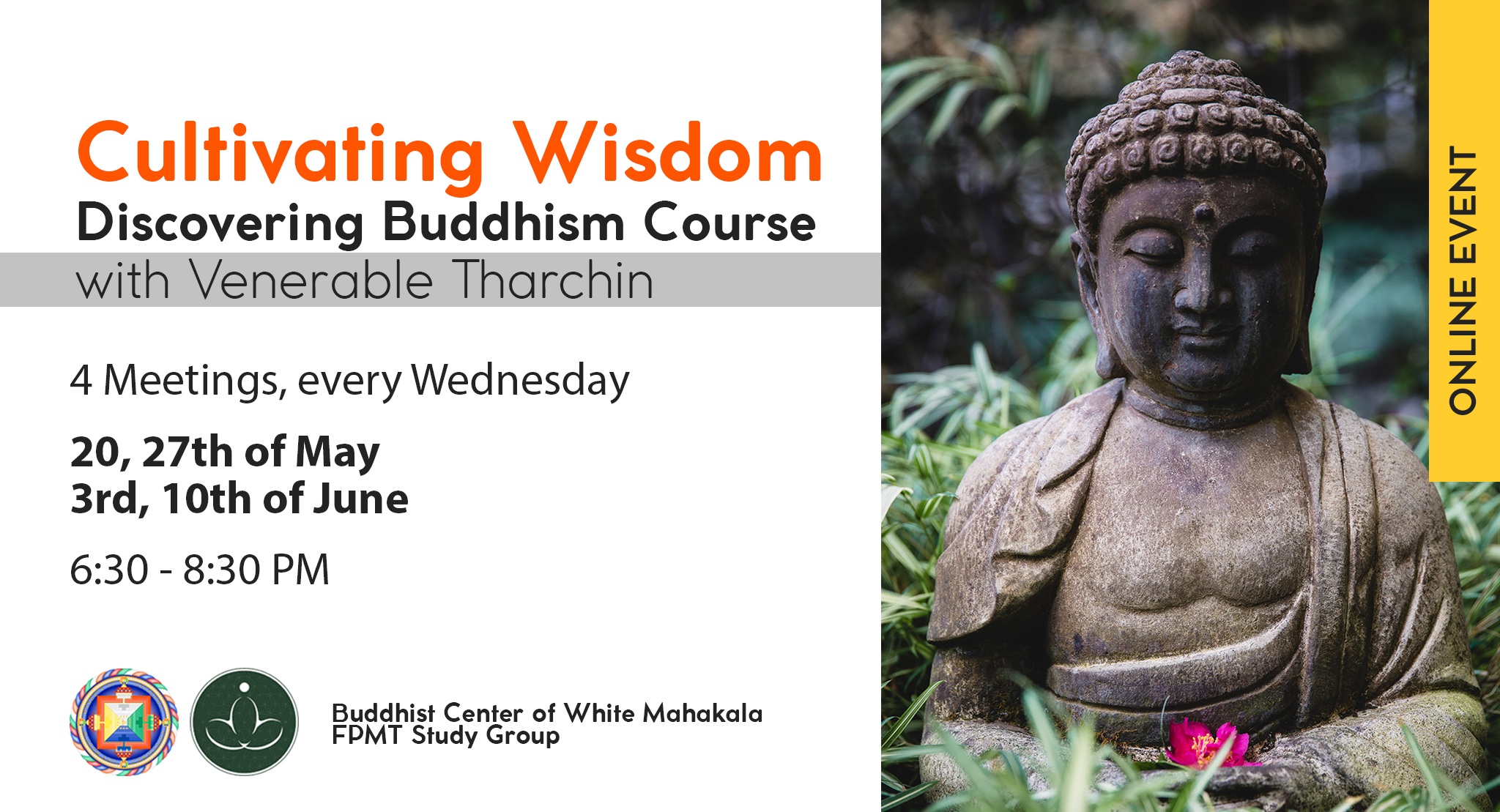 Teachings online with ven Tharchin – Cultivating Wisdom
