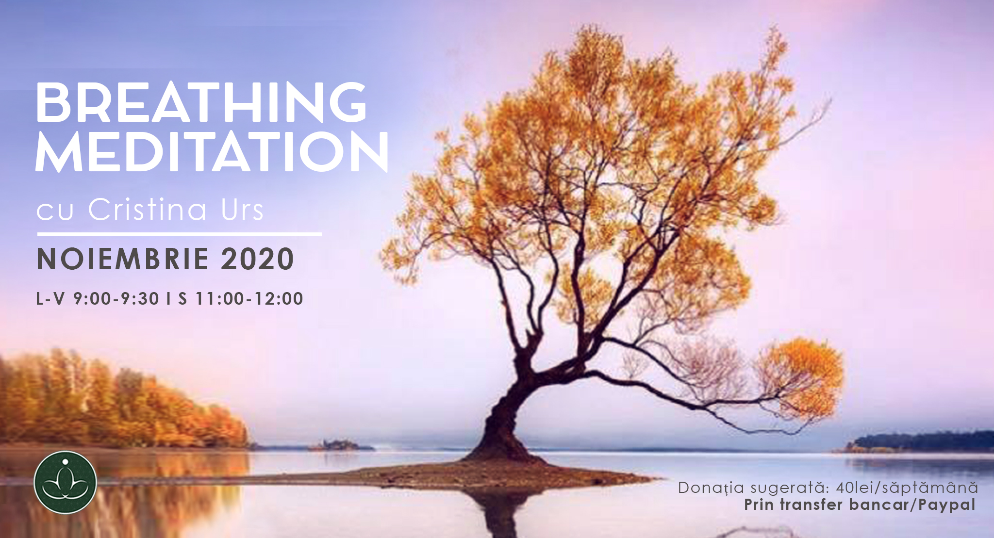 Online Breathing Meditation cu Cristina