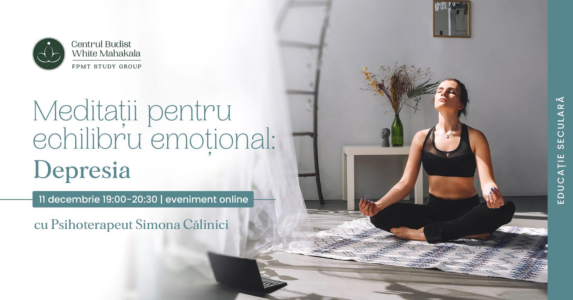 Meditatii pentru echilibru emotional