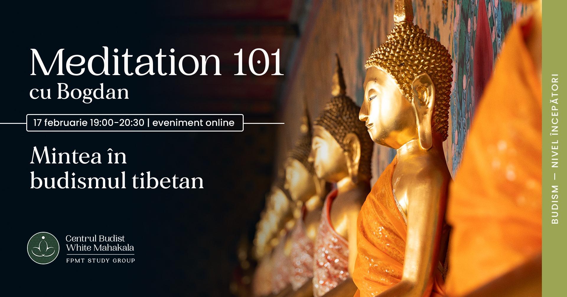 MEDITATION 101- Mintea in budismul tibetan