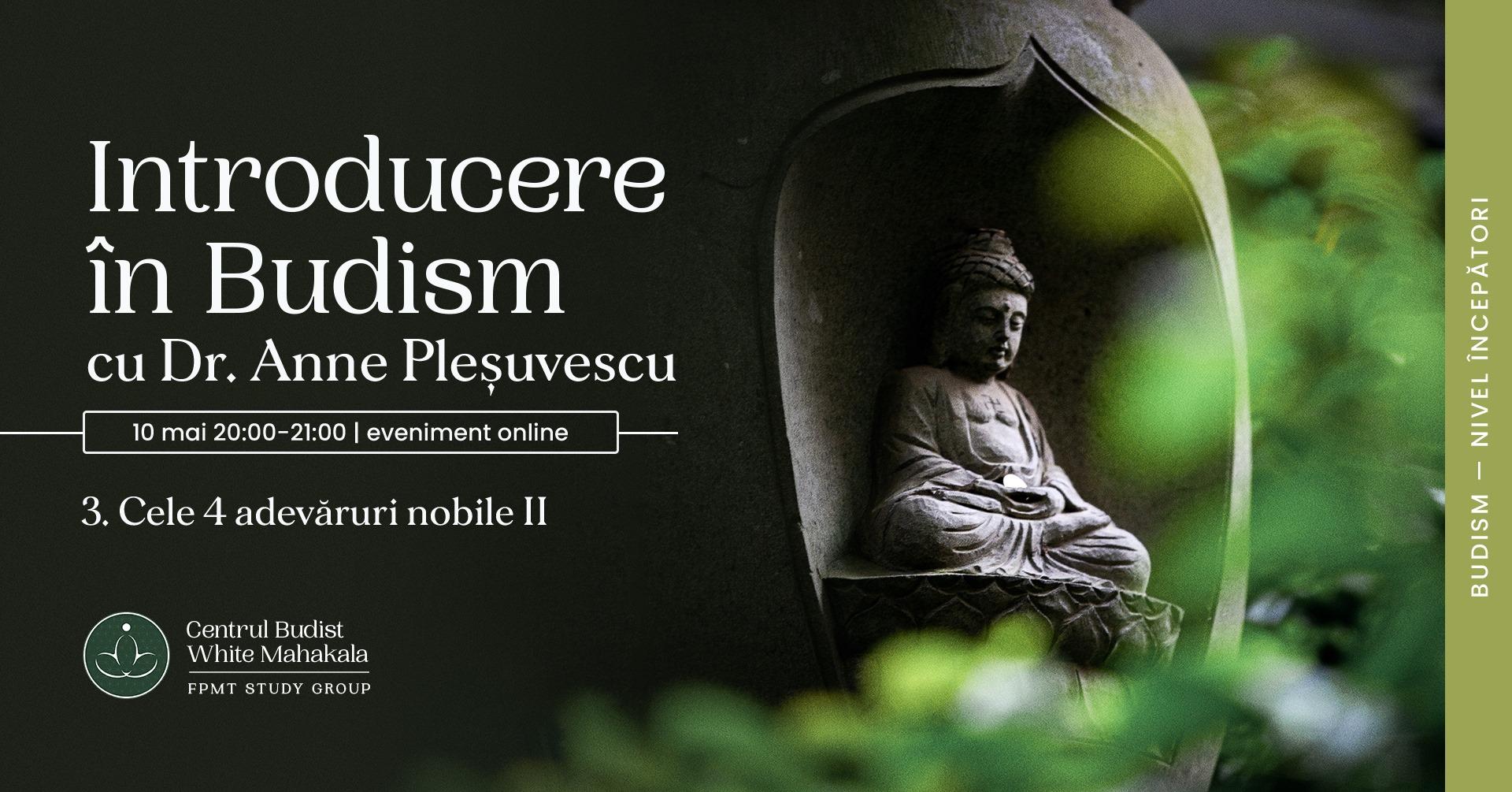 INTRODUCERE IN BUDISM- Cele 4 adevăruri nobile (II)