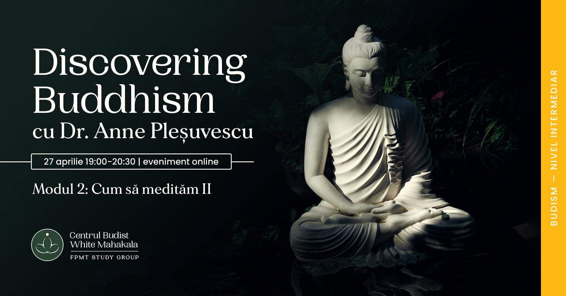 DISCOVERING BUDDHISM. Modulul 2  Cum sa meditam (II)