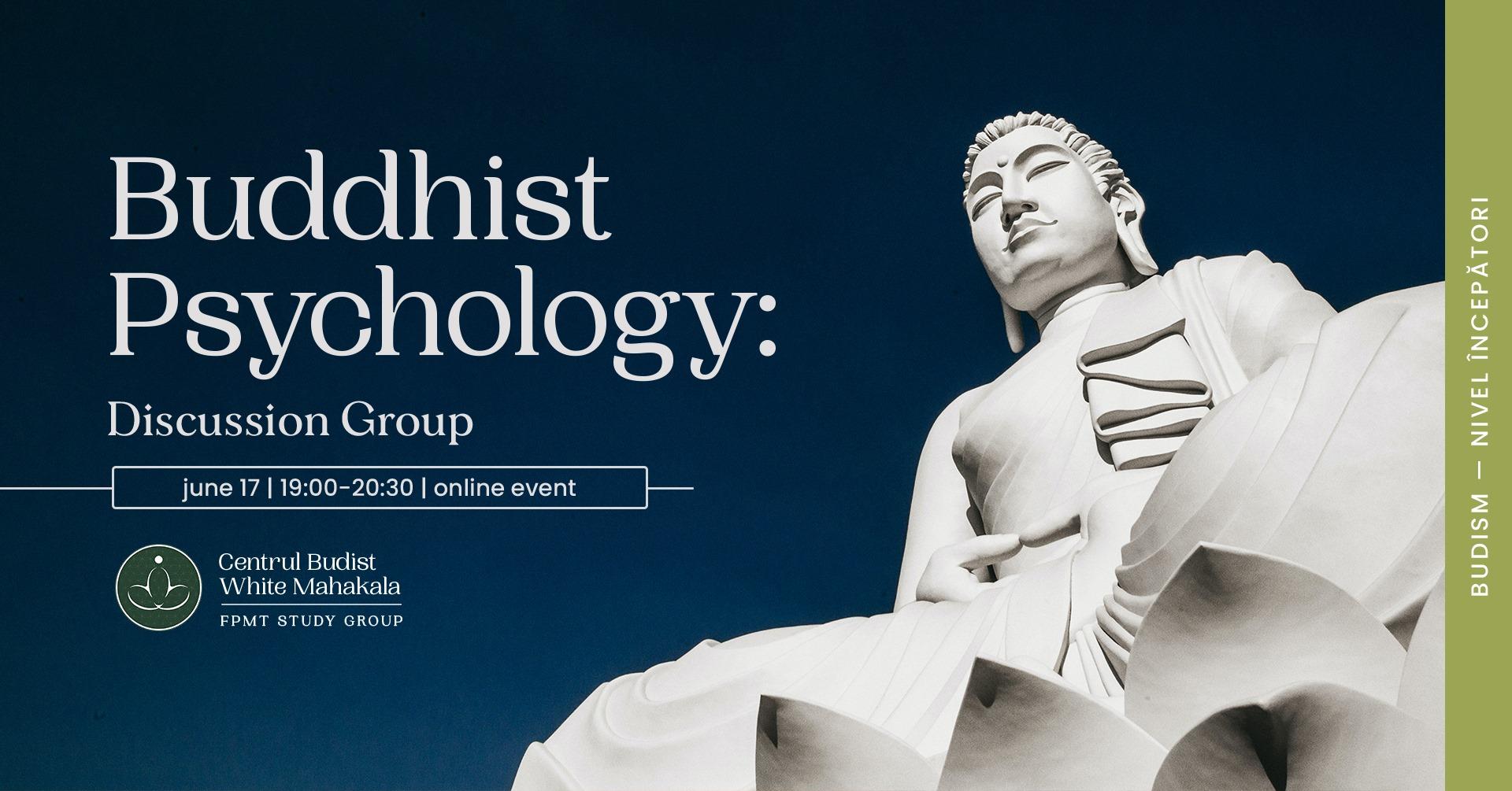 Buddhist Psychology: Pride & Jealousy – Discussion Group