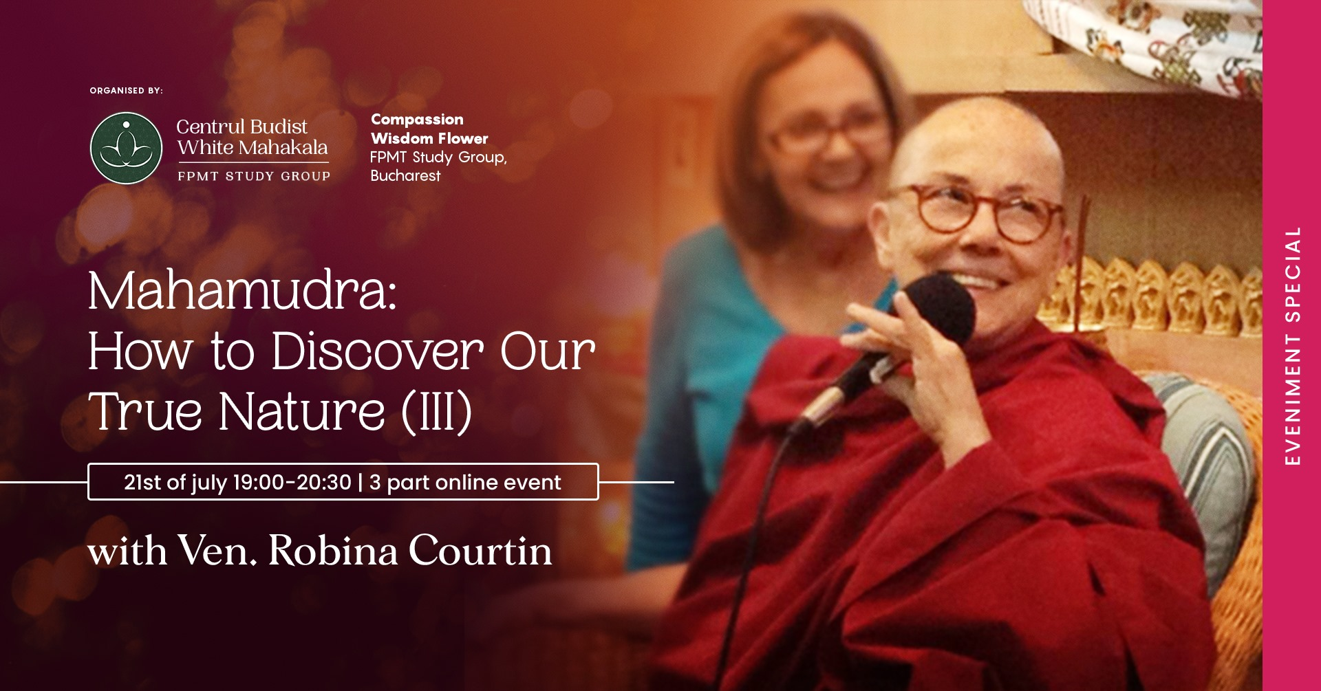 Mahamudra: How to Discover our True Nature with Ven. Robina Courtin