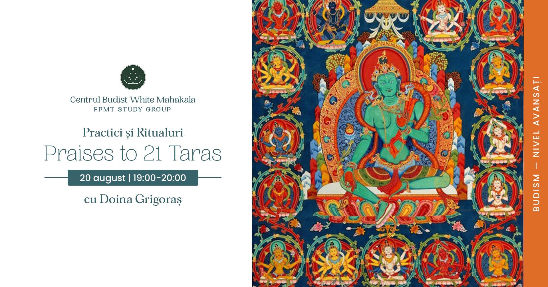 PRACTICI SI RITUALURI BUDISTE – Praises to 21 Taras